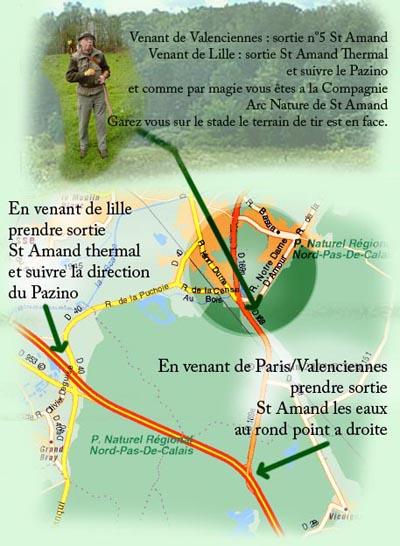 Tir a l 39 arc - Office de tourisme saint amand les eaux ...